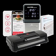 iVide® Plus Jnr. Sous Vide Cooker VS270P Bundle (WIFI)