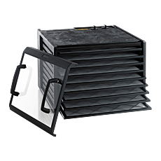 Excalibur 9 Tray Dehydrator with Timer with clear door